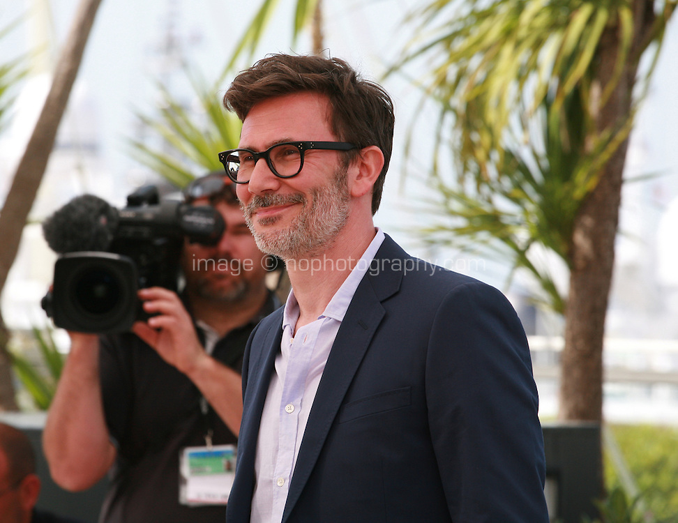 Director Michel Hazanavicius at the photo call for the film The Search at the 67th Cannes Film Festival, Wednesday 21st  May 2014, Cannes, France.
