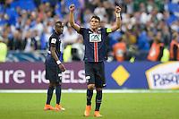 Joie PSG - Thiago Silva - 30.05.2015 - Auxerre / Paris Saint Germain - Finale Coupe de France<br />Photo : Andre Ferreira / Icon Sport