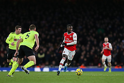 Nicolas Pepe of Arsenal on the ball - Mandatory by-line: Arron Gent/JMP - 18/01/2020 - FOOTBALL - Emirates Stadium - London, England - Arsenal v Sheffield United - Premier League