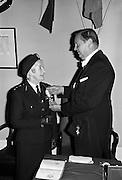 Order of Malta for Leslie Bean de Barra..03.12.1963