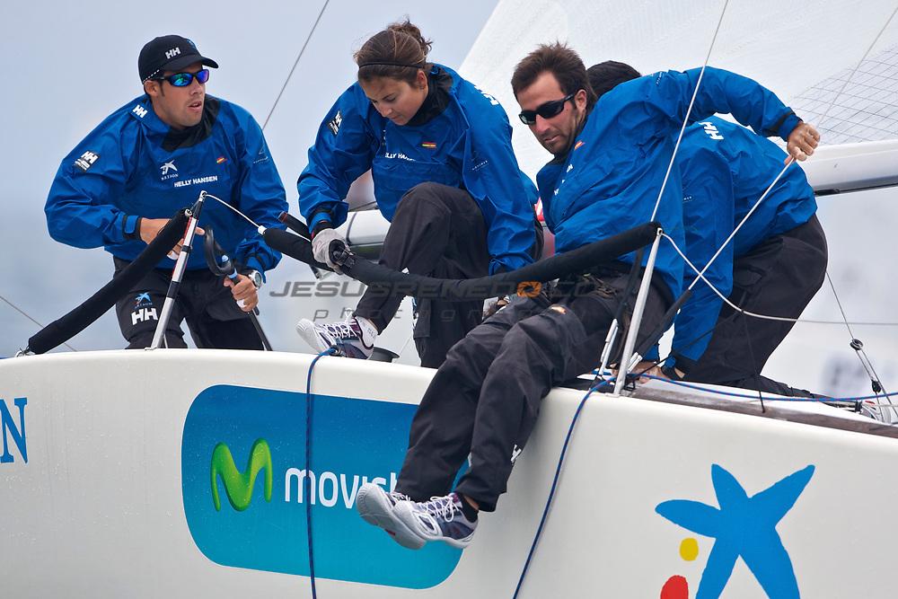 Platu 25 spanish championshio 2011,Marbella,Spain,Day 2 ©jrenedo