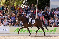 Bruntink Vai (NED) - Ebony 98<br /> FEI World Dressage Championships for Young Horses<br /> Internationales Dressur- und Springfestival - Verden 2014<br /> © Dirk Caremans