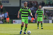 Forest Green Rovers Gavin Gunning(16) during the EFL Sky Bet League 2 match between Forest Green Rovers and Grimsby Town FC at the New Lawn, Forest Green, United Kingdom on 5 May 2018. Picture by Shane Healey.