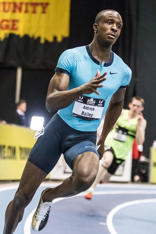 USATF Indoor Track & Field Championships: mens 300 heats, Aldrich Bailey, Nike