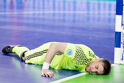 Georgi Zamtaradze of Russia during futsal match between Russia and Poland at Day 1 of UEFA Futsal EURO 2018, on January 30, 2018 in Arena Stozice, Ljubljana, Slovenia. Photo by Urban Urbanc / Sportida