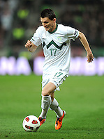 Fussball International, Nationalmannschaft   EURO 2012 Qualifikation, Slowenien - Italien          25.03.2011 Andraz KIRM (Slowenien)