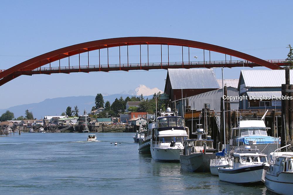 Rainbow Bridge, LaConner, Washington<br />