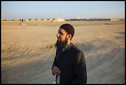 MOD Imam Asim Hafiz at Camp Bastion in Afghanistan, 23 January 2014, Picture by Andrew Parsons / Parsons Media Ltd