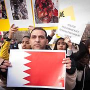 Bahrain Protest - D.C. 2011