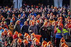 Dutch audience at Men UCI CX World Championships - Hoogerheide, The Netherlands - 2nd February 2014 - Photo by Pim Nijland / Peloton Photos