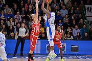 DESCRIZIONE : Sassari LegaBasket Serie A 2015-2016 Dinamo Banco di Sardegna Sassari - Giorgio Tesi Group Pistoia<br /> GIOCATORE : MarQuez Haynes<br /> CATEGORIA : Tiro Tre Punti Three Point Controcampo Ritardo<br /> SQUADRA : Dinamo Banco di Sardegna Sassari<br /> EVENTO : LegaBasket Serie A 2015-2016<br /> GARA : Dinamo Banco di Sardegna Sassari - Giorgio Tesi Group Pistoia<br /> DATA : 27/12/2015<br /> SPORT : Pallacanestro<br /> AUTORE : Agenzia Ciamillo-Castoria/L.Canu