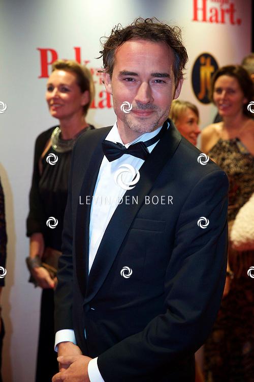 HILVERSUM - In de nieuwe JT Bioscoop is de eerste film 'Pak van mijn Hart' in premiere gegaan. Met hier op de foto  Jeroen Nieuwenhuize. FOTO LEVIN DEN BOER - PERSFOTO.NU