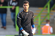 Forest Green Rovers goalkeeper Robert Sanchez(1) during the EFL Sky Bet League 2 match between Forest Green Rovers and Stevenage at the New Lawn, Forest Green, United Kingdom on 21 August 2018.