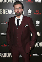 Emmett J Scanlan, Breakdown - UK Film Premiere, Odeon Covent Garden, London UK, 12 January 2016, Photo by Brett D. Cove
