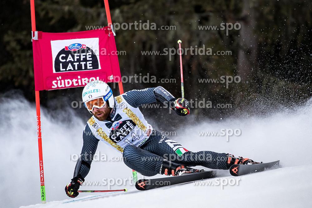 19.12.2016, Grand Risa, La Villa, ITA, FIS Ski Weltcup, Alta Badia, Riesenslalom, Herren, 1. Lauf, im Bild Riccardo Tonetti (ITA) // Riccardo Tonetti of Italy in action during 1st run of men's Giant Slalom of FIS ski alpine world cup at the Grand Risa race Course in La Villa, Italy on 2016/12/19. EXPA Pictures © 2016, PhotoCredit: EXPA/ Johann Groder