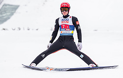 28.02.2019, Seefeld, AUT, FIS Weltmeisterschaften Ski Nordisch, Seefeld 2019, Nordische Kombination, Team Sprung, im Bild Francois Braud (FRA) // Francois Braud of France during Team Jumping competition for Nordic Combined of FIS Nordic Ski World Championships 2019. Seefeld, Austria on 2019/02/28. EXPA Pictures © 2019, PhotoCredit: EXPA/ JFK