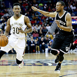 02-25-2015 Brooklyn Nets at New Orleans Pelicans