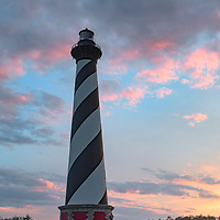 Beautiful clouds at sunset, Cape Hatteras, NC