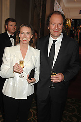 Actor WILLIAM BOYD and his wife SUSAN at the Galaxy British Book Awards 2007 - The Nibbies held at the Grosvenor house Hotel, Park Lane, London on 28th March 2007.<br />