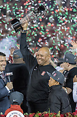 2016 Jan 1 - Rose Bowl - David Shaw Podium