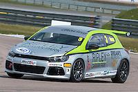 #3 Phil HOUSE  PH Motorsport  Volkswagen Scirocco Milltek Sport Volkswagen Racing Cup at Rockingham, Corby, Northamptonshire, United Kingdom. April 30 2016. World Copyright Peter Taylor/PSP.