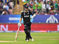 Cricket - 2019 ICC Cricket World Cup - Group Stage: New Zealand vs. South Africa<br /> <br /> New Zealand's Kane Williamson as wickets fall at the other end, at Edgbaston, Birmingham.<br /> <br /> COLORSPORT/ASHLEY WESTERN