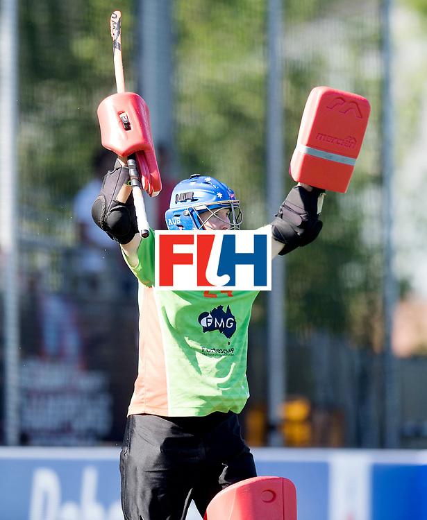 BREDA - Rabobank Hockey Champions Trophy<br /> Final Australia - India<br /> Photo: Tyler Lovell.<br /> COPYRIGHT WORLDSPORTPICS FRANK UIJLENBROEK