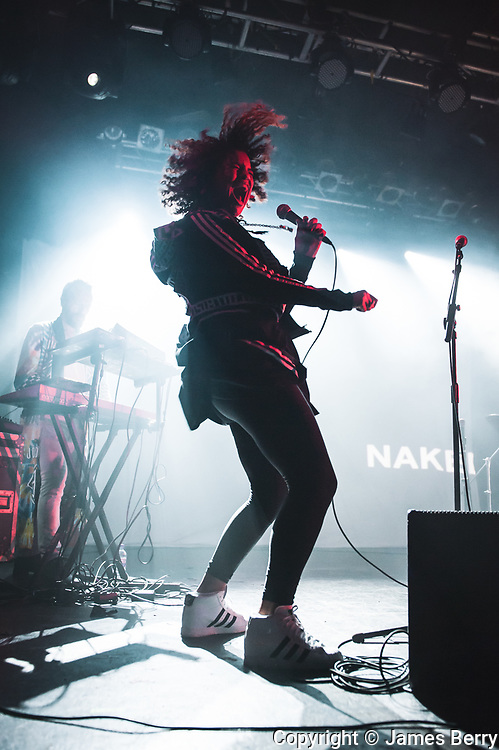 Neneh Cherry performs live at the Electric Ballroom, London, with electronic duo RocketNumberNine on Wednesday 28 January 2014.