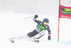 Adam Barwood of New Zeland during 1st run of Men's Giant Slalom race of FIS Alpine Ski World Cup 57th Vitranc Cup 2018, on 3.3.2018 in Podkoren, Kranjska gora, Slovenia. Photo by Urban Meglič / Sportida
