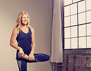 Leah Cullis, yoga instructor and fitness model. Houston, TX.<br /> Photographed by advertising photographer Nathan Lindstrom