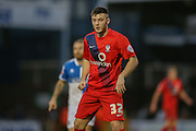 York City forward, on loan from Middlesbrough, Bradley Fewster  during the Sky Bet League 2 match between Bristol Rovers and York City at the Memorial Stadium, Bristol, England on 12 December 2015. Photo by Simon Davies.