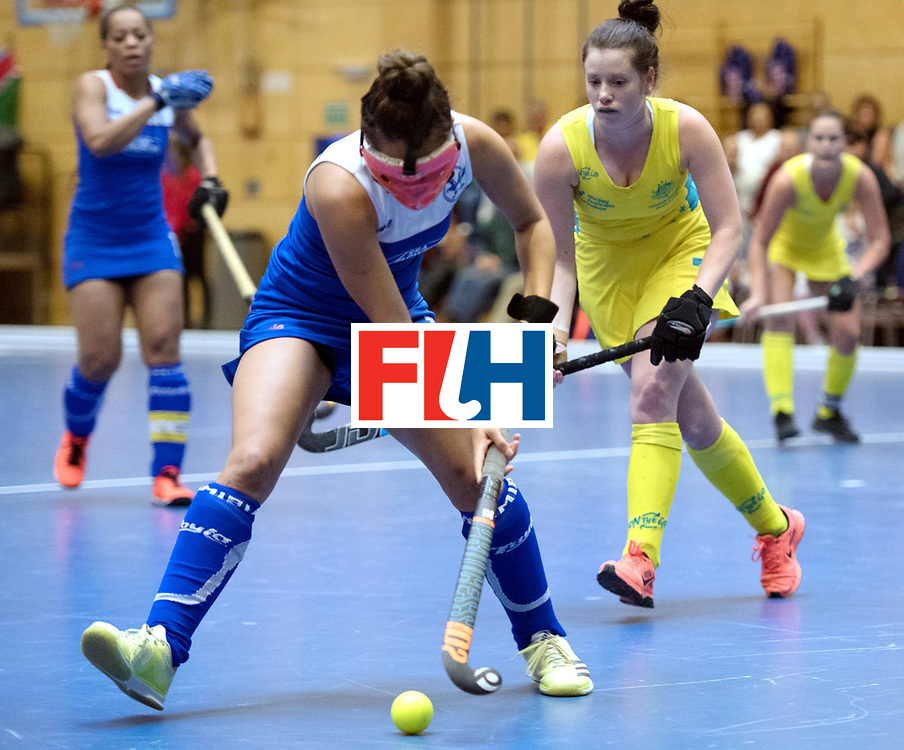 BERLIN - Indoor Hockey World Cup<br /> Australia - Namibia<br /> foto: HERMANUS Gillian<br /> WORLDSPORTPICS COPYRIGHT FRANK UIJLENBROEK