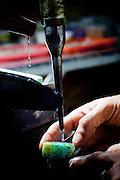 Santo Antonio do Leite_MG, Brasil...Processo produtivo e pecas prontas das pecas artesanais de pedra e prata produzidas pela Associacao de Artesaos, da cidade de Santo Antonio do Leite...The craft production of stones and silver produced by the Associacao de Artesaos, in the city Santo Antonio do Leite...Foto: BRUNO MAGALHAES / NITRO