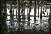 Looking Underneath the Santa Monica Pier