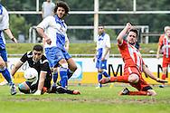 29-05-2016: Voetbal: Elinkwijk v De Zouaven: Utrecht<br /> <br /> Chris Grootman van De Zouaven<br /> <br /> Promotie degradatieduel, Seizoen 2015-2016<br /> <br /> De Zouaven verliest het duel met 3-0 en degradeerd hierdoor voor de tweede maal op rij naar de 2e klasse.<br /> <br /> Foto: Gertjan Kooij