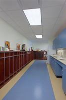 Architectual interior image of the SFAC building in Fort Knox Kentucky by Jeffrey Sauers of Commercial Photographics