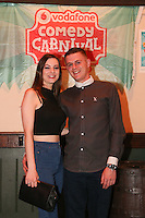 repro free: Vodafone Comedy Carnival : <br /> <br /> Pictured at the launch of the Vodafone Comedy Carnival in the Roisin Dubh were Teri Heaton, Knocknacarra and Dave Conlan, Claregalway. The 2016 Vodafone Comedy Carnival runs as part of Vodafone&rsquo;s Centre Stage and is sure to fill the &lsquo;Eyre&rsquo; with laughter with performances from international and home grown comedians over the October bank holiday weekend (25th to 31st of October). Shows will take place in multiple venues across the city, including the brand new venue &lsquo;The Red Box&rsquo; at Eyre Square. Tickets on sale from Monday 29th August. For more for info go to  HYPERLINK &quot;http://www.vodafonecomedycarnival.com&quot; www.vodafonecomedycarnival.com&nbsp; <br /> Photo: xposure.