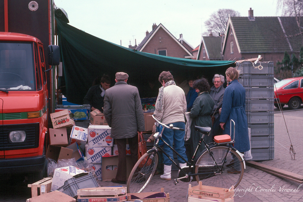 Vegetable market  at Het Kerkplein