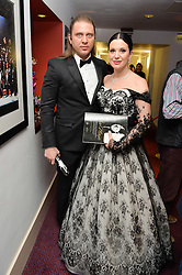 OLGA BALAKLEETS and RAFAL PORZYCKI  at the Ave Maya Ballet gala in memory of Maya Plisetskava held at the English National Opera, St.Martin's Lane, London on 6th March 2016.
