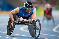 Pierre FAIRBANK, FRA, Athletisme, Athletics, 400m - T53 at Rio 2016 Paralympic Games, Brazil