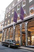 asprey jewellery shop at christmas in london