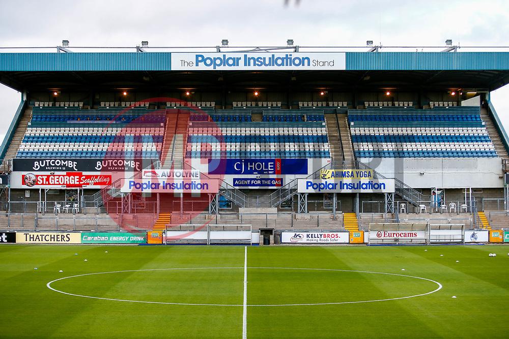A general view of the Poplar Insulation stand at the Memorial Stadium  - Mandatory by-line: Ryan Hiscott/JMP - 14/08/2018 - FOOTBALL - Memorial Stadium - Bristol, England - Bristol Rovers v Crawley Town - Carabao Cup