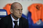 Reading manager, Jaap Stam during the EFL Sky Bet Championship match between Reading and Ipswich Town at the Madejski Stadium, Reading, England on 9 September 2016. Photo by Adam Rivers.