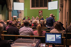 The Action Porty group leading the campaign for the community right to buy of Bellfield Church and Halls in Portobello held an open meeting last night in Portobello and Joppa Parish Church. <br /> &copy; Jon Davey/ EEm