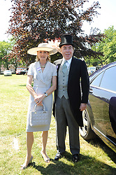 LORD & LADY LLOYD-WEBBER at the third day of the Royal Ascot 2010 (Ladies Day) Racing Festival at Ascot Racecourse, Bershire on 17th June 2010.