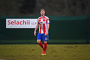 Dorking Wanderers Robb Sheridan during the Ryman League - Div One South match between Dorking Wanderers and Lewes FC at Westhumble Playing Fields, Dorking, United Kingdom on 28 January 2017. Photo by Jon Bromley.