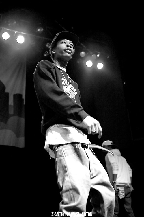 Wiz Khalifa performs at Rams Head Live in Baltimore, MD on Monday, December 27, 2010.