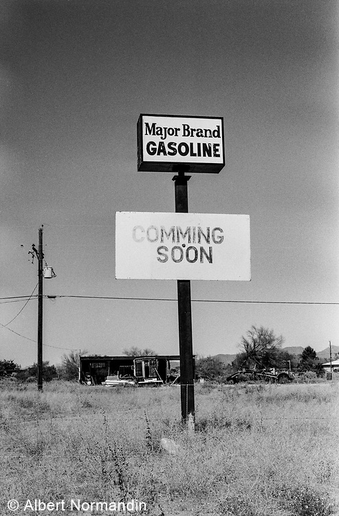 Major Brand Coming Soon, Why, Arizona, USA, 1995