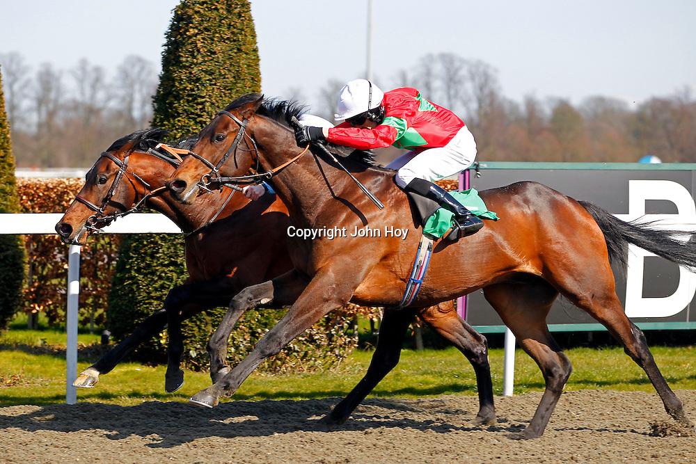 Speed Boogie and Neil Callan winning the 3.00 race