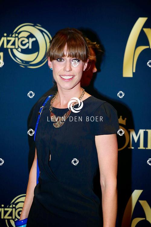 AMSTERDAM - In Carre is de Gouden Televizier-Ring Gala 2013. Met op de foto  Hanna Vink, muziekredacteur van De Wereld Draait Door. FOTO LEVIN DEN BOER - PERSFOTO.NU